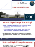 Week-1 Module-3 Why is Digital Image Processing Important