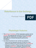 Disturbances in Gas Exchange
