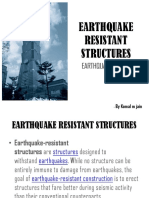 Earthquake Resistant Structures