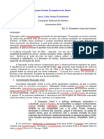 Congresso de Homens Abaeté- Impressa