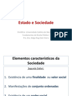 Estado e Sociedade 2016