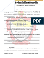 Practica de Ortografia 3 y 4 primaria