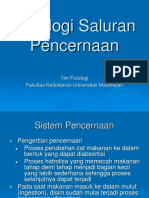 Lecture Fisiologi Pencernaan