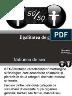 Egalitaea de Sexe