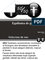 Egalitatea de Sexe