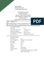 Status Jiwa Bangsal RSJ Cimahi Alvan