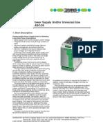 Quint DC UPS manual