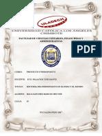 Evolucion Historica Del Presupuesto en El Peru