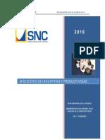 Plan Nacional de La Calidad 2016