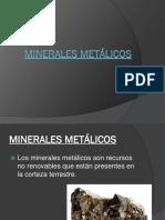Minerales metálicos