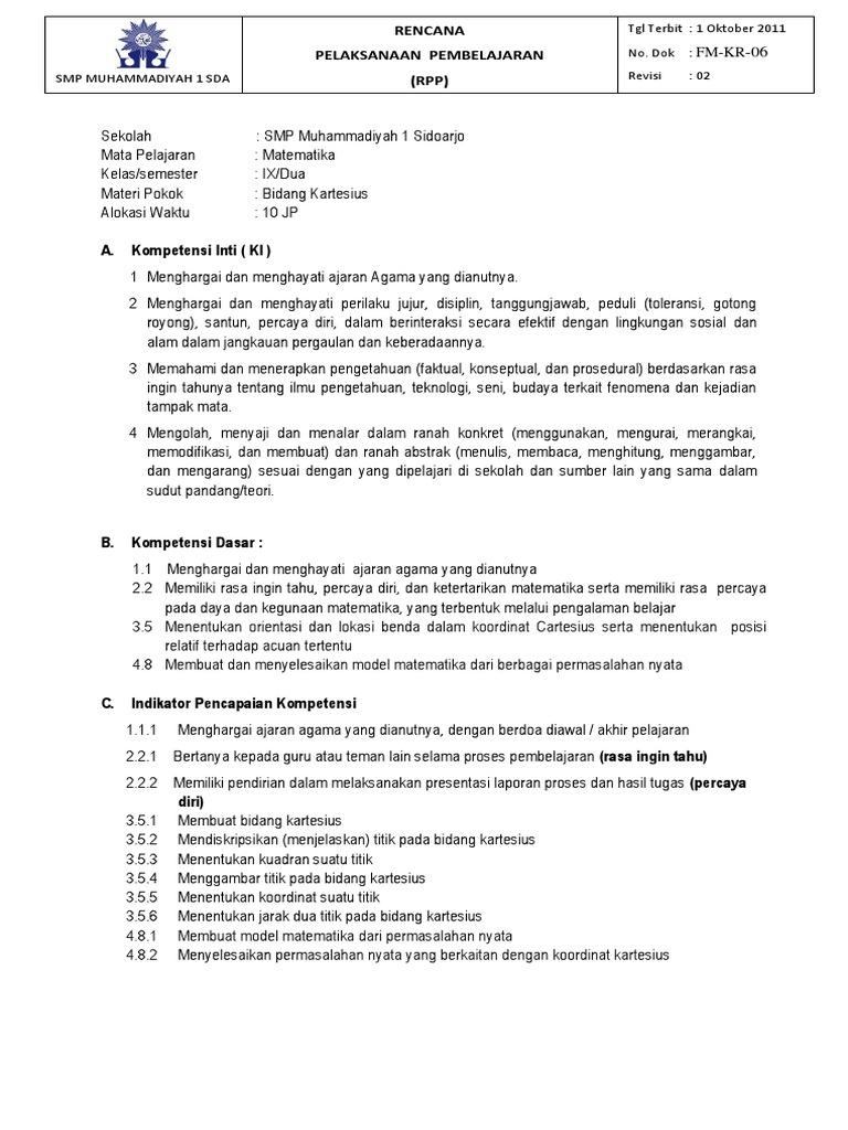 Rpp bab 8 bidang kartesiuscx ccuart Choice Image