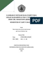 GAMBARAN SENSASI RASA PAHIT PADA LIDAH MAHASISWA.doc