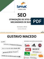 SEO Senac Curso de Otimização de Sites