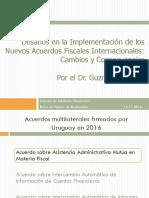 Desafíos en la implementación de los nuevos acuerdos fiscales internacionales