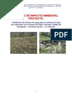 Estudio de Impacto Ambiental Peña Colorada
