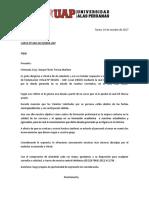 Modelo Referencial de Carta de Rpta a Reclamacion