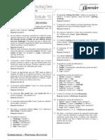 English - Inglês - Caderno de Resoluções - Apostila Volume 3 - Pré-Universitário - ing1 aula15