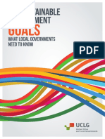 The SDGS - What the Local Government Need to Know