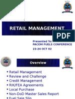 D-PACOM Retail Brief