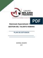 Plan de Estudios Gestion Del Talento 2017-1-1