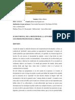 Peklimovsky_pedrodocumental Reflexividadla Autoreflexividad