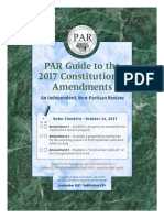 PAR Guide to the 2017 Louisiana Proposed Constitutional Amendments
