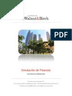 Simulación de Finanzas. VPN