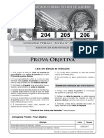 Prova Web - Gabarito 1 - Cargo 204-205-206
