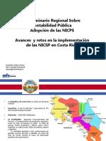 Avances y Retos en La Implementación de Las NICSP en La Región - Costa Rica