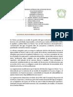 Gestión Del Agua en México, Excluyente y Proempresarial Tarea 2