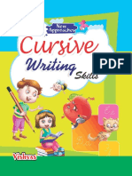 English Cursive Writing Skills Stage 1 eBook