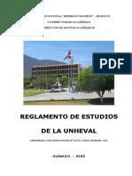 Reglamento de Estudios UNHEVAL