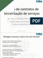 PALESTRA III MARCIO RODRIGO CGEPI Gestao de Contratos Servios Terceirizados
