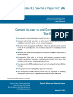 3766178 Goldman Demographics - Current Accounts and Demographics