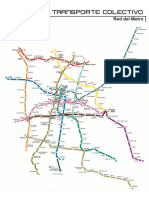 Plano Metro Mexico