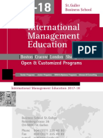 International Management Education 2017 2018