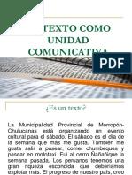 1 Texto Como Unidad Comunicativa-Presentación de Clase-TEMA 1 (1)