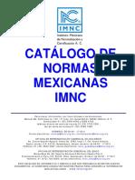 IMNC-Catálogo de Normas (2006!07!07)