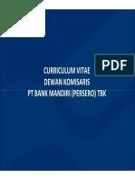 PCRL40285731_CV Dewan Komisaris Dan Direksi Bank Mandiri