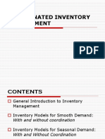 Coordinated Inventory Management