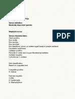 Notes May 4, 2014 Bacteriology