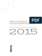 Informa Annual Report 2015
