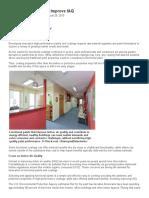 Advanced Paints Help Improve IAQ