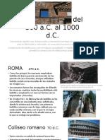 Ladrillos en Roma