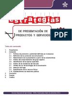 Estrategias de Presentación de Productos y Servicios