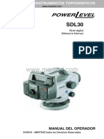Nivel de Ingeniero - Sokkia SDL30&50.pdf