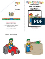 Vegetable Book With Text