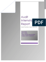 Audit Internship Report Nida Dk