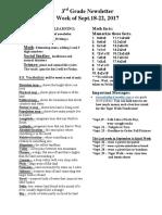 newsletter for sept 18-222017wk7
