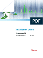 Installation Guide Chromeleon 7 2